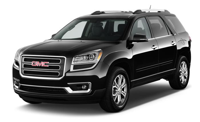 Different Trim Options for the 2016 GMC Acadia