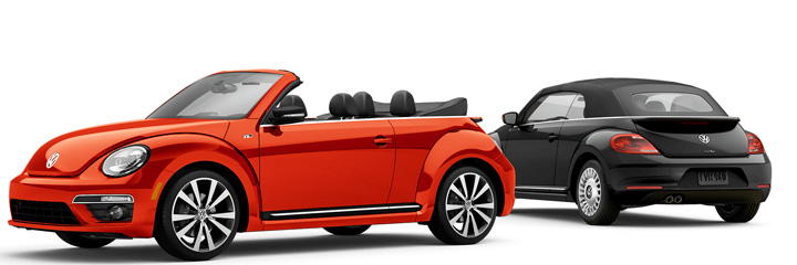 The Volkswagen Beetle Convertible Top Features